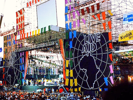 The Legacy of Live Aid, 30 Years Later