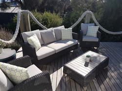 Super comfy outdoor chill zone
