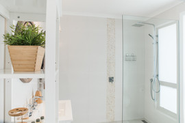 Stunning wetroom with dual head shower