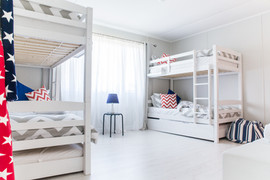 Boisterous bunk room for the kids