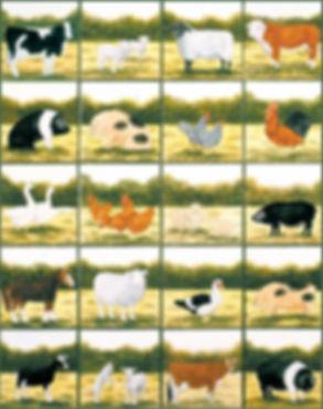 Farm Animal single tile range