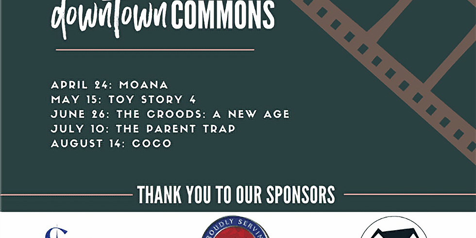 Movie Nights at the Downtown Commons