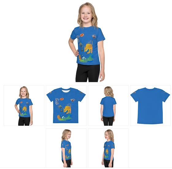 Wow Kids T Shirt all over print