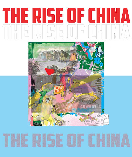 The Rise of China limited edition fine art  print