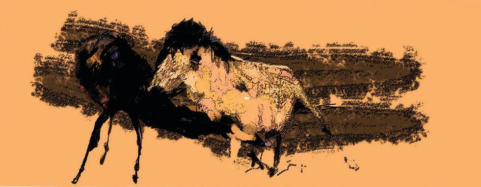 Horses 2 limited edition fine art print