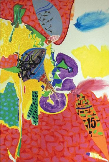 Portait of Dame Barbara Hepworth limited edition fine art