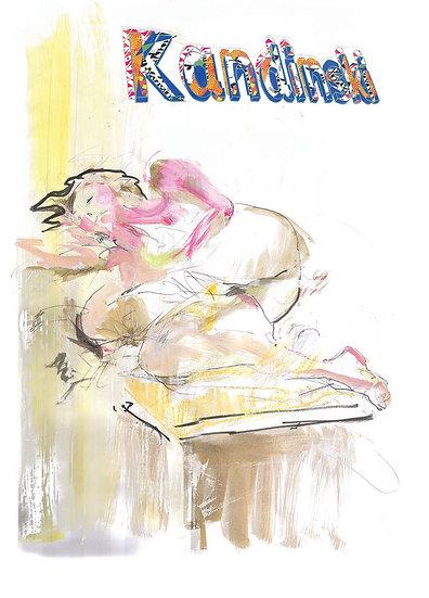 Kandinski Model limited edition fine art print