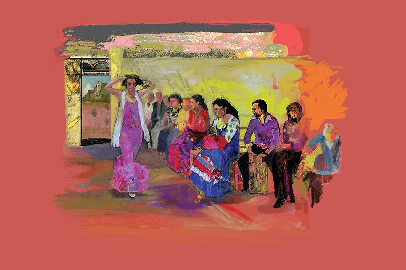 Flamenco 3  limited edition fine art print