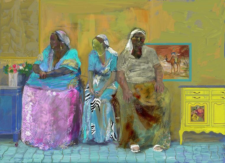 Three Gypsies limited edition fine art print