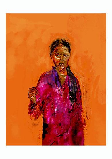 Portrait of Greta Thomberg by David Winter