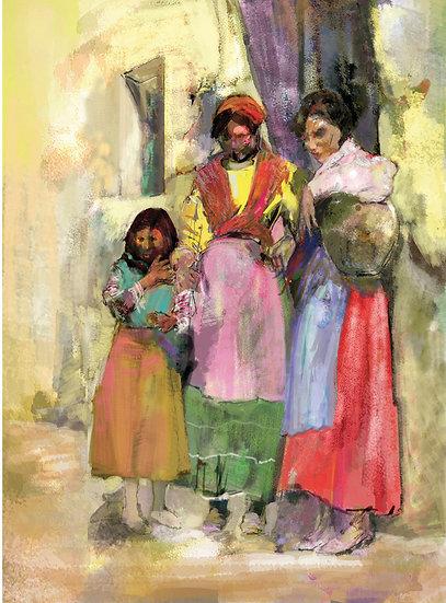Gypsy Girls limited edition fine art print