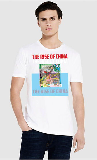 215 EP03 Slim Jersey Fit Mens Tee Shirt Rise of China