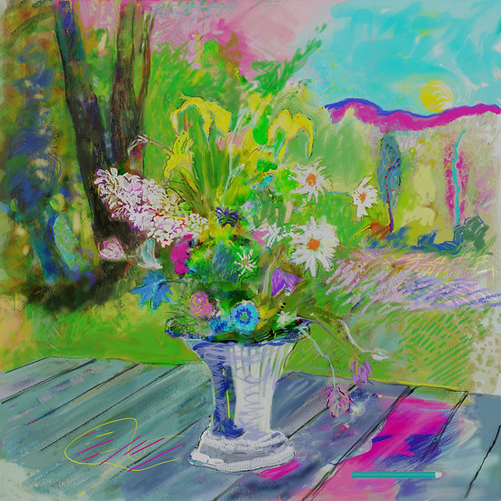 Flowers limited edition fine art print