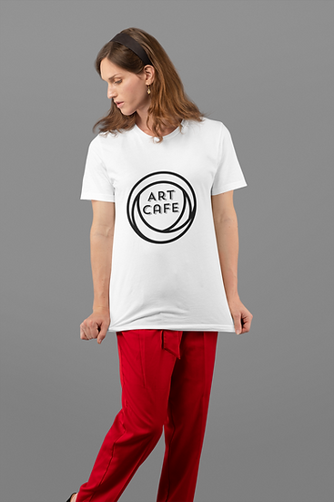 Womens white cotton T Shirt