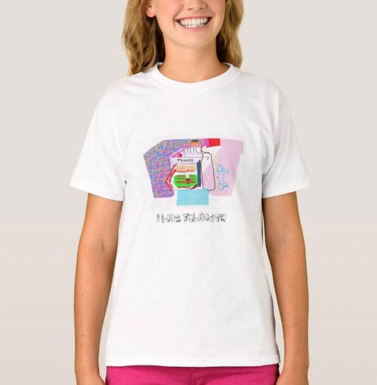 Gildan Kids SoftStyle Ringspun T- Shirt I love Falmouth design