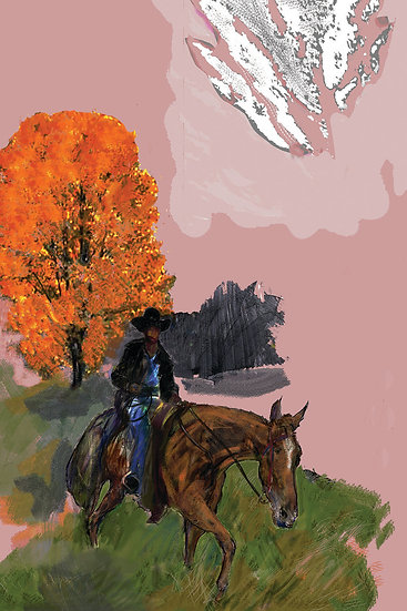 Horseman limited edition fine art print
