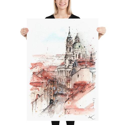 Prague - Art Print