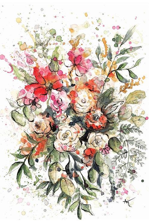 Flower Bouquet - Original Painting