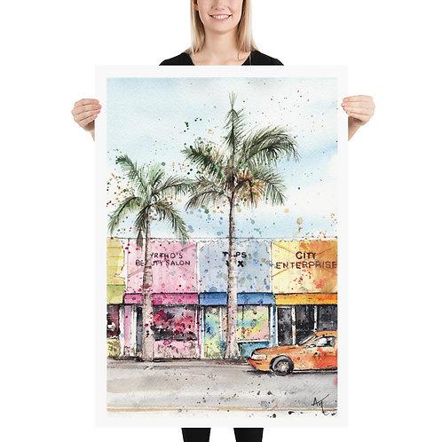 Miami - Art Print