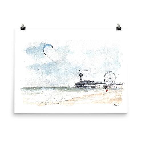 Scheveningen - Art Print