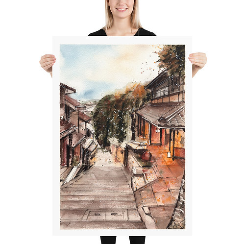 Kyoto - Art Print