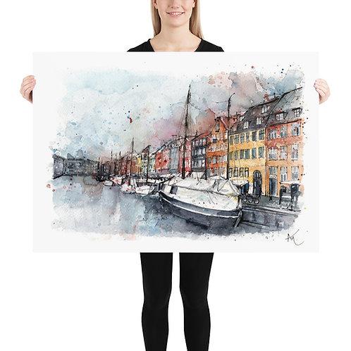 Copenhagen - Art Print