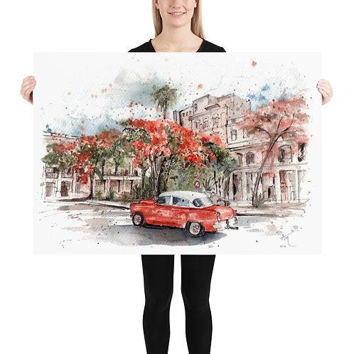 Havana - Art Print