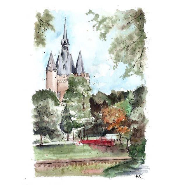 Zwolle - Dutch Landmarks Collection