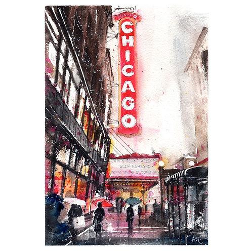 Chicago  - Original Painting