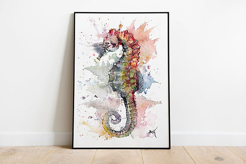 Seahorse - Art Print