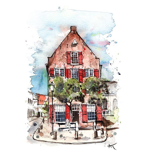 Amersfoort House - Original Painting