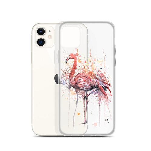 Flamingo - iPhone Case