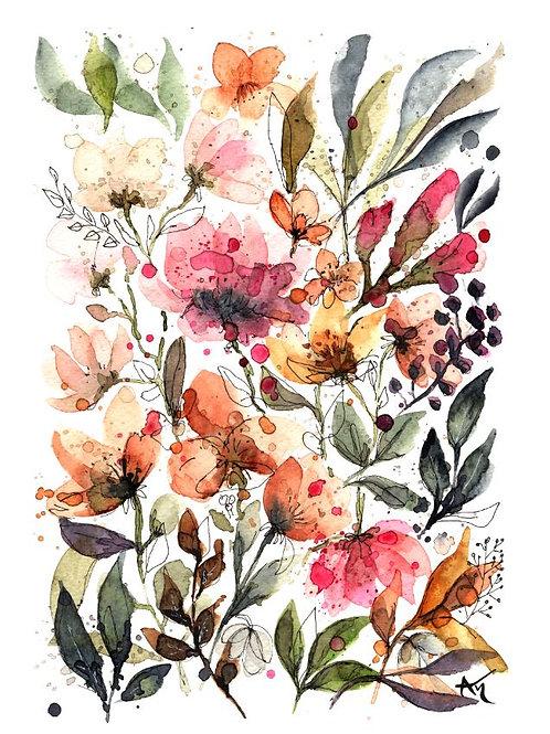 Flowers - Original Painting