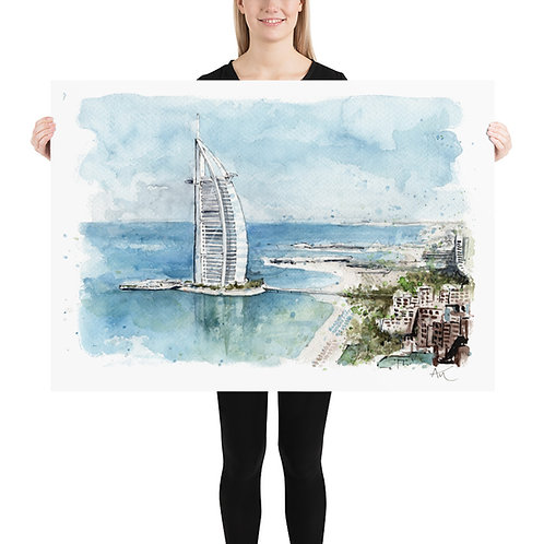 Dubai - Art Print