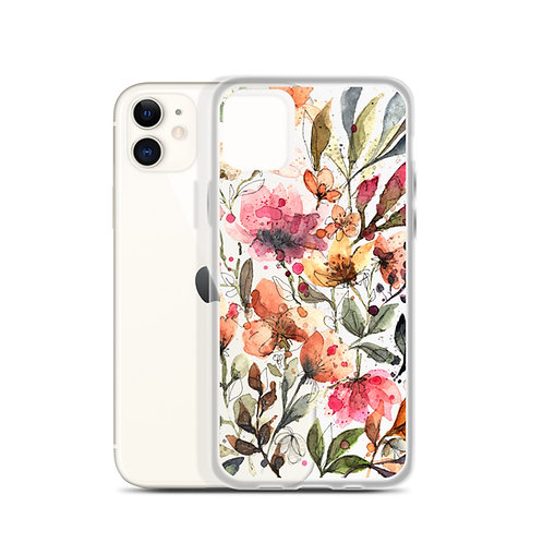 Colorful Flowers - iPhone Case