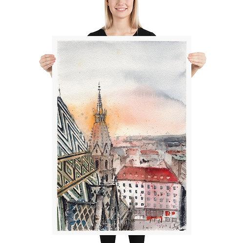 Vienna - Art Print