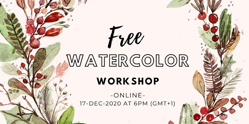 FREE Watercolor Workshop - ONLINE