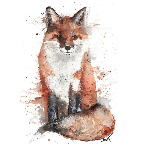 Fox - Original Painting