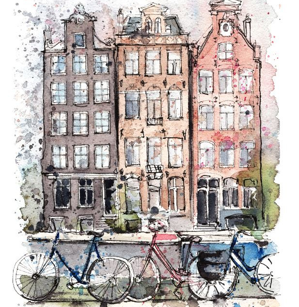 Amsterdam Houses, Netherlands