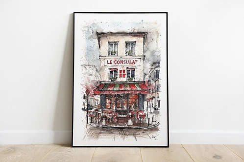 Paris, Le Consulat - Art Print
