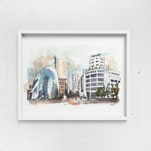 NEW - A4 Art Print on Watercolor paper