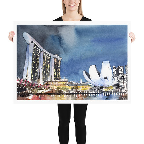 Singapore - Art Print