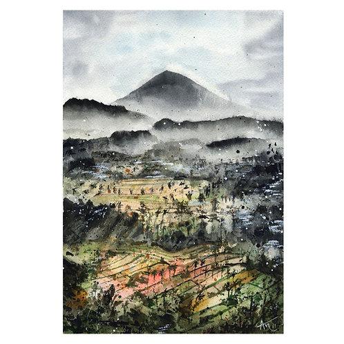 Bali - Signed print