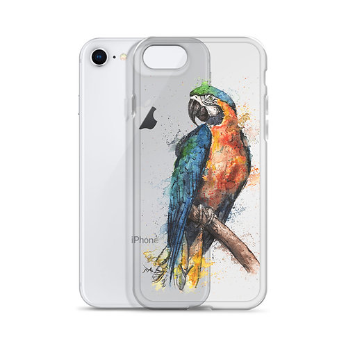 Macaw Parrot - iPhone Case