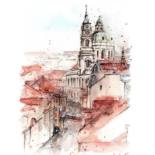 Prague  - Original Painting
