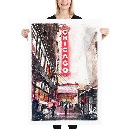 Chicago - Art Print