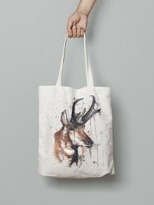 red deer Canvas Tote Bag .jpg