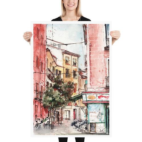 Madrid - Art Print
