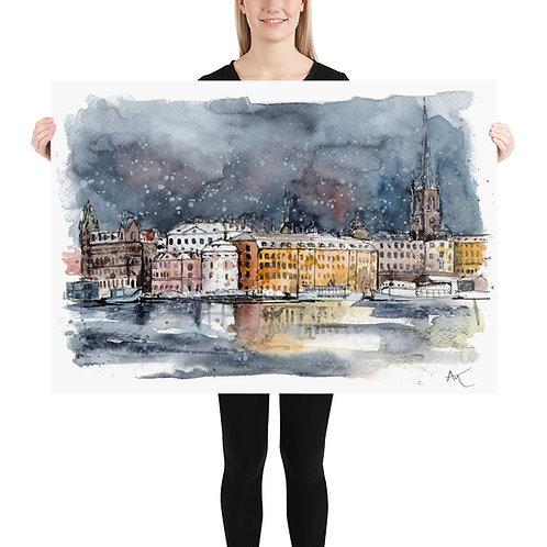 Stockholm - Art Print