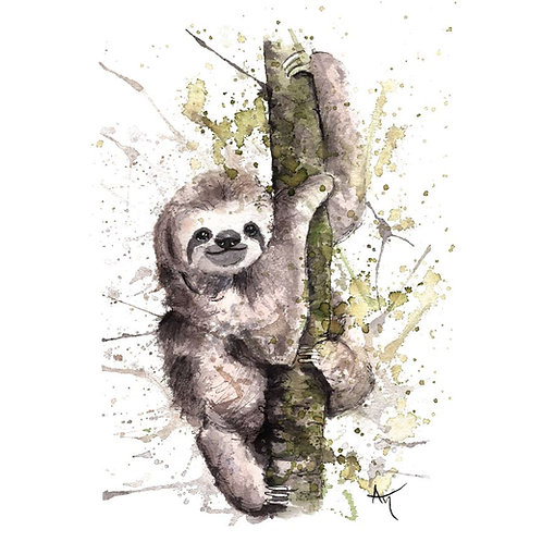 Sloth - Original Painting